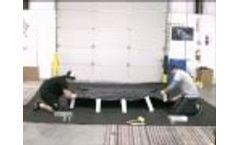 Spill Berm - Alumimun L Bracket Berm AIRE Industrial Video