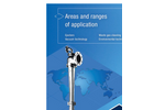 Areas and ranges of application