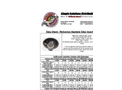 Manhole Odor Insert - Data Sheet