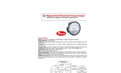 Magnehelic Gauge - Specification Sheet