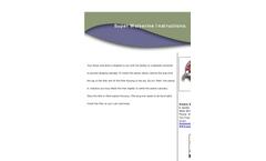 Super Wolverine Installation Instructions - Brochure