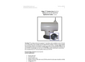 Wolverine - Mega T 30 LB - Septic Vent Filter 30CFM Max - Product Data Sheet