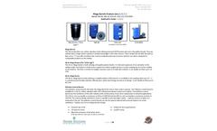 Wolverine - Model 150LB HDPE - Max 200CFM - Air Pollution Control Barrel - DataSheet