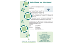 Model BS-714 - Drain Cleaner and Odor Control - DataSheet