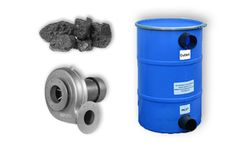 Wolverine - Model PCB150-PB - Pollution Control Barrel, Fan and Carbon - 90 CFM