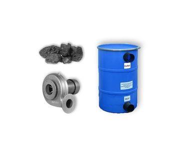 Wolverine - Model PCB150-PB - Pollution Control Barrel, Fan and Carbon - 200CFM