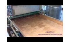 Vacuum Belt Filter - Video 1
