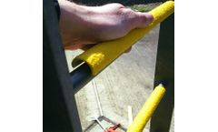 Safeguard Hi-Traction - Anti-Slip Ladder Rung Covers