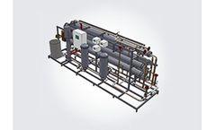 RO Stations RALEX - Model RWTU BW - Industrial Reverse Osmosis Unit - Capacity 5-50 m3/h