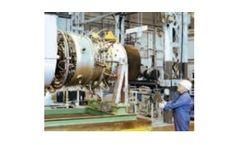 Siemens - Model SGT-100 - Gas Turbine