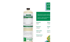 Gasco 17L Steel - Disposable Cylinders - Brochure