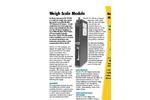 HI 1771-WS - Single Slot Weigh Scale Module Brochure