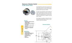 HI 5800 - Electronic Vibration Monitoring Switch Brochure