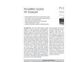 Picarro - Model SI2000 - Cleanroom Monitoring Analyzer Brochure