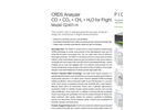Picarro - Model G2401-m - In-Flight Carbon Monoxide Measurement Analyzer Brochure