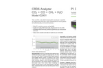 CRDS Analyzer for CO, CO2, CH4, & H2O in Air G2401 Brochure
