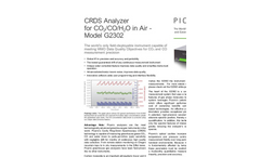 CRDS Analyzer for CO/CO2/H2O in Air G2302 Brochure