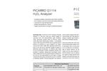 CRDS Analyzer for H2O2 G1114 Brochure
