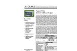 NH3 Analyzer for Exhaust Data Sheet (PDF 103 KB)