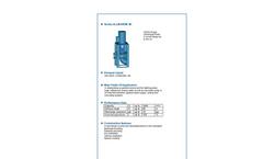 ALLMARINE - Series MI - Volute Casing Centrifugal Pump - Brochure