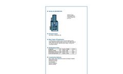 ALLMARINE - Series MA - Volute Casing Centrifugal Pump - Brochure