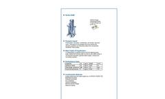 ALLMARINE - Series NAM - Volute Casing Centrifugal Pump - Brochure