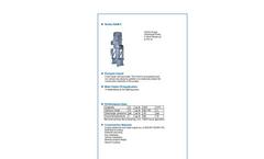 ALLMARINE - Series NAM-F - Volute Casing Centrifugal Pump - Brochure