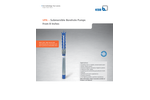 UPAchrom - Model 100 - 4-Inch Submersible Borehole Pumps Brochure