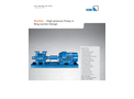 Multitec - Versatile High-Pressure Pump with Low NPSH Values Brochure