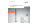 KSB - Model UPA - Submersible Borehole Pumps Brochure