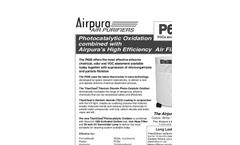 Airpura P600 Air Purifiers Brochure