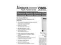 Airpura C600DLX Air Purifiers Brochure