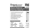 Airpura - Model R600 - Air Purifiers - Brochure