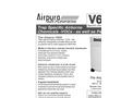 Airpura V600 Air Purifiers Brochure