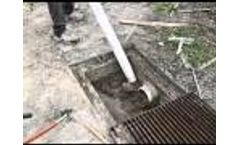 Vac-Tron Mini-Combo Series Lateral Drain Cleanout and Vacuum Excavation Video