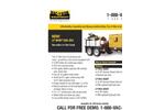 Vac-Tron - Model LP 305 - Mini Trailer Mounted Hydro Excavator Brochure
