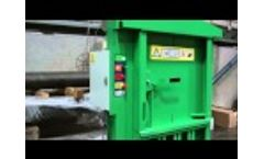 MACFAB 75 Baler with Auto cycle and Auto Eject Video