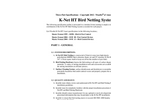 Nixalite K-Net - HT - Bird Netting Specifications