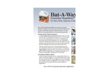 Bat-A-Way Repellent Brochure (PDF 172 KB)