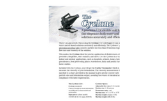 Cyclone - Model ULV - Electric Cold Fogger - Brochure