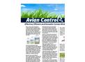 Avian Control - Effective, Efficient and Versatile Contact Bird Repellent - Brochure