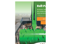 BERGMANN Skip SM 1600 (1,600 Litre Capacity) Roll-Packer For Collection and Transport - Brochure