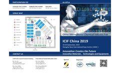 China International Chemical Industry Fair 2019 - Brochure