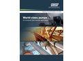 World-Class Pumps - for Industrial Fluid Transfer Applications - Brochure