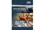 World-Class Pumps - for Industrial Fluid Transfer Applications - Brochure