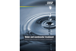 Water and Wastewater Treatment - Brochure