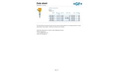 GF Signet - Model 2290 - Non-contacting Radar Level Transmitter - Datasheet