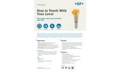 GF Signet - Model 2290 - Non-contacting Radar Level Transmitter - Flyer