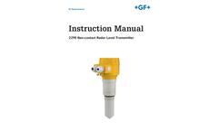 2290 Non-contact Radar Level Transmitter - Manual