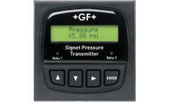 +GF+ Signet - Model 8450 - Pressure Transmitters